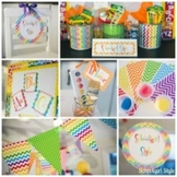 Classroom Decor Learn Colorfully Collection