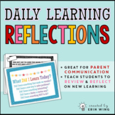 Daily Learning Reflections