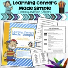 Learning Centers Made Simple - Literacy Centers for Readin