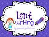 Lent Writing