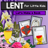 Lenten Book For Kids Lets Make a Book