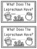 Leprechaun Emergent Reader Plus!