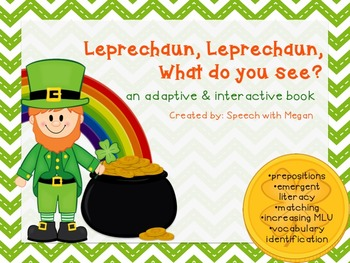 Leprechaun, Leprechaun: An Adaptive & Interactive St. Patrick's Day Book