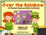 Leprechaun St. Patrick's Day Math Craftivity: Addition and
