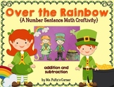 Leprechaun St. Patrick's Day Math Craftivity: Addition and