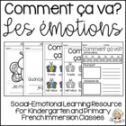 Les émotions/sentiments - French Activities for Juli Power