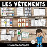 Les vêtements - ensemble/ French clothing bundle