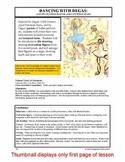 "Lesson plan.  Degas:  A Study of ""Little Dancer, Aged Four"