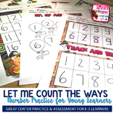 Let Me Count the Ways - Number Practice!