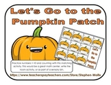 Let's Go to the Pumpkin Patch - Counting Game