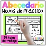 Letras Fabulosas {Alphabet Letter Practice in Spanish}