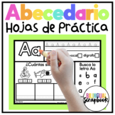 Letras Fabulosas {Alphabet Letter Practice in Spanish}