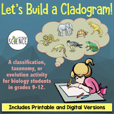 Cladogram Activity: Build a Cladogram (Classification, Tax