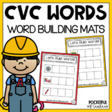 Let's Build Words {CVC Game}