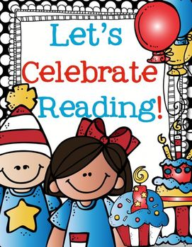 Let's Celebrate Reading!  Print and Go for Writing and Math