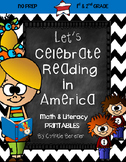 Let's Celebrate Reading in America {NO PREP Printables}
