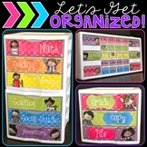 Let's Get Organized {Melonheadz Kids Polka Dot Edition}