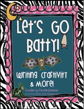 Let's Go Batty! {Writing Craftivity & More}