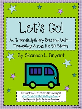 Let's Go--Travelling across the 50 States Social Studies Unit