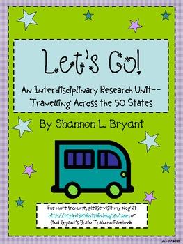 Let's Go--Travelling across the 50 States Social Studies Unit