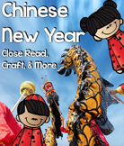 Chinese New Year Close Read and Make a Dragon!