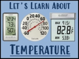 Let's Learn About Temperature! (PowerPoint)