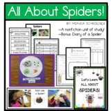 Let's Learn All About Spiders