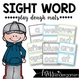 Let's Learn our Sight Words! {play dough mats}