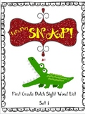 Let's Play Snap! Dolch Sight Words Game First Grade Set 1
