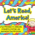 Let's Read, America! FREEBIE
