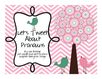 Let's Tweet about Pronouns