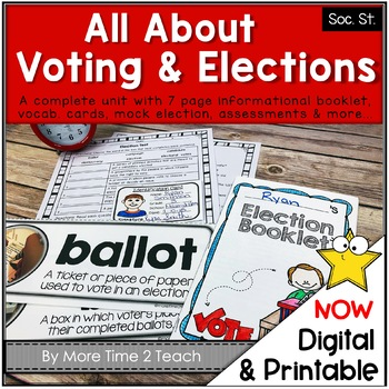 Let's Vote: 2012 Election's Packet