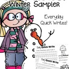 Let's Write {Winter Sampler}