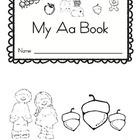 Letter Aa Book (emergent reader)
