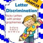 Letter Discrimination Free Sampler
