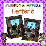 Letter Fluency & Fitness Bundle