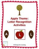 Apple Theme: Letter Recognition Activities