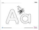 Tracing and Letter-Sound Recognition ABC in Spanish