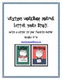 Letter Writing Genre Study