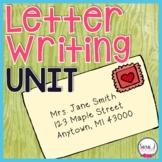 Letter Writing Unit - Grades 1-3