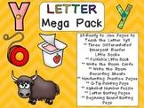 Letter Yy Mega Pack- Kindergarten Alphabet- Handwriting, L