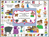 Letter and Sound Fluency with Brown Bear
