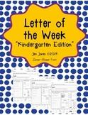 Letter of the Week - Zaner Bloser Font