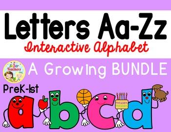 Letters Aa-Zz Interactive Alphabet