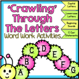 Letters, Letter Sounds Word Work Activities