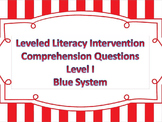 LLI Multiple Choice Short Answer Comprehension Skills Asse