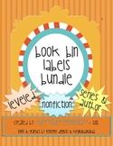 Leveled, Non fiction, & Series Book Bin Label Bundle