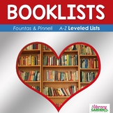 Leveled BOOKLISTS from A-Z