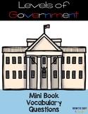 Levels of Government Mini Book