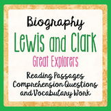 Lewis and Clark Their Lives and Times: Informational Texts